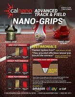 Nano-Grip Replacement Track Spikes - World's Fastest Spikes! (3/16in)