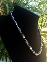 Elite Shungite Necklace Noble Shungite Barrel Necklace Chain Karelia Reiki Heal.