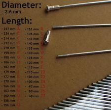 36 Stück 12G 2,6mm Durchmesser Speichen und Nippel E-bike Pedelec ElektroFahrrad
