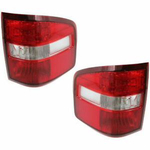 FIT FORD F150 F-150 TRUCK 2004-2009 FLARESIDE TAILLIGHTS REAR LAMPS LIGHTS PAIR