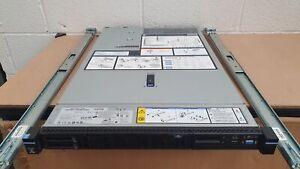 IBM x3550 M5 1U Server 2x Xeon E5-2640 v3 2.6Ghz 8 Core 256GB RAM 2x 1.2TB RAID