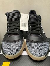 Men's Adidas Marquee Boost Low Athletic Shoes D96932 Black/White/Shock Cyan 6.5