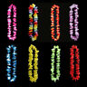 EE_ 60Pcs Lei Flower Garland Necklace Hawaiian Tropical Beach Pool Party Dress S