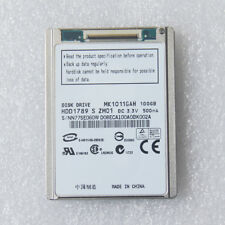 "NEW 1.8"" 100GB CE ZIF PATA MK1011GAH HARD DRIVE FOR SONY VAIO TZ VGN Festplatte"
