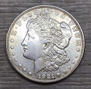 1921-D Morgan Dollar 1$ Silver Coin (M158)