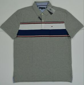 NWT Men's Tommy Hilfiger Short-Sleeve Wicking Cotton Polo Shirt