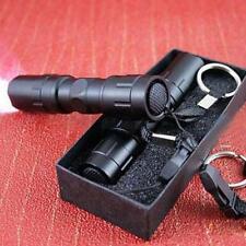 Flashlight Torch celular mini del CREE LED Light lamp keychain Black waterproof f27