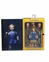 """Childs Play Chucky Ultimate Action Figure 4"""" NECA IN STOCK Ready Player One Box"""