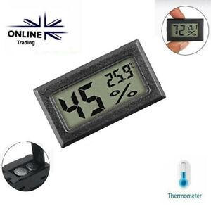 Digital Temperature Humidity Meter Sensor Thermometer Hygrometer Room Gauge LCD