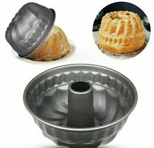 Chef Aid Fluted Spiral Round Bunt Swirl Cake Mould Ring Tin Non stick