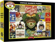 Jigsaw Puzzles 1000 Piece Vintage Marmite Gibson Sealed Brand New