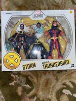 "AUTHENTIC Marvel Legends 6"" STORM THUNDERBIRD X-Men Target Exclusive Pack Hasbro"