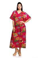 New Ladies Oversized Maxi Kimono Kaftan Tunic Kaftan Dress Plus Size Floral