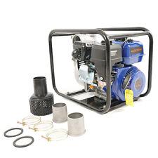 "Multi-Purpose Pump 6.5hp Gas Water Pump Semi Trash Pump 2"" Inlet/Outlet 132GPM"