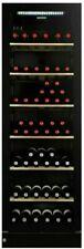 VINTEC V190SG2EBK 170 Bottle Wine Cabinet - Black