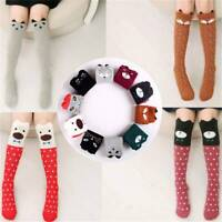 Womens 3D Lovely Cute Cartoon Animals Thigh Stockings Over Knee High Long Socks