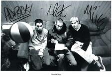 BEASTIE BOYS AUTOGRAPHED SIGNED A4 PP POSTER PHOTO
