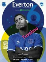Everton v Brighton & Hove Albion 3/10/20 PL PROGRAMME! READY TO POST!