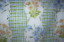 "Laura Ashley vintage curtains St Helier 83"" + d x 90""w tab top"