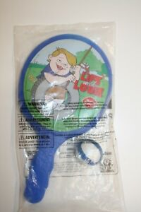 Vintage New Sealed 1999--LIFE WITH LOUIE Dairy Queen Kids Meal Toys Paddle Ball