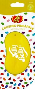 3D Jelly Belly CRUSHED PINEAPPLE Jelly Bean Car Air Freshener FAST FREE DISPATCH