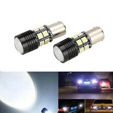 2x White 25W Canbus 1156 BA15S P21W S25 CREE LED Bulb Car Backup Reverse Light