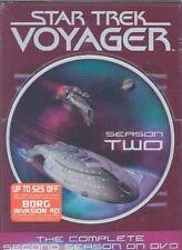 Star Trek Voyager Complete Second 0097360507843 With Kate Mulgrew DVD Region 1