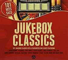 101 Jukebox classics 5 CD Set David Bowie Blondie Tom Jones Micheal Jackson More