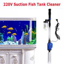 Electric 220V Vacuum Cleaner Vacuum Filter Gravel Clean Fish Tank Water Changer