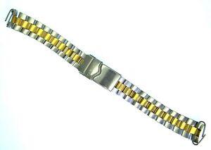 Genuine Tag Heuer FAB010 Stainless Steel Two Tone Watch Bracelet