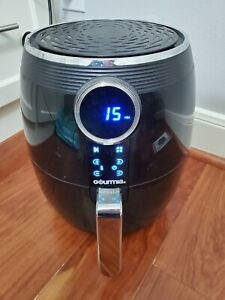 Digital Air Fryer 5 Quart - Gourmia, 8 Presets - Black - Used