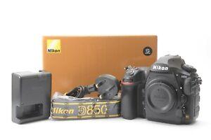 Nikon D850 45.7 MP Digital SLR DSLR Camera (Body Only) - Black - Complete in Box