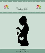 Dixi Crafts Cutting Die  PREGNANT WOMAN MD0039