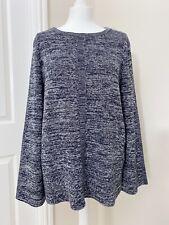 Neues AngebotNWT £ 79.95 Damen Barbour Carron Strick blau Pullover Größe 14
