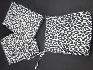 2 Standard Microfiber Pillowcases Cheetah Leapord Animal  w/ Bag 3 Pcs Set #4