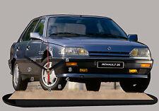 MINIATURE, MODEL CARS, RENAULT 25, R25, renault-25-01 en horloge
