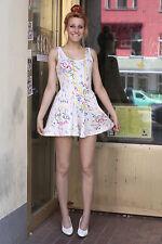 Hosenkleid Damen Tennis Kleid dress Overall 38 weiß white 80er True VINTAGE 80s