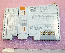 750-400 WAGO DIGITAL INPUT MODULE I/O SYSTEM 24V 2DI