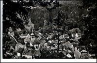 Bad Berneck Bayern Postkarte Ansichtskarte 1960 gelaufen Blick vom Sonnentempel