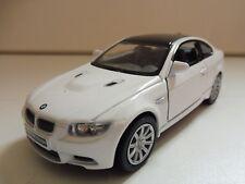 BMW M3 Coupé Blanc KINSMART 1/36 Diecast NEUF