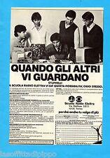 ALTOP981-PUBBLICITA'/ADVERTISING-1981- SCUOLA RADIO ELETTRA (B)