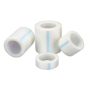 1.25/2.5/5cm PE Adhesive Tape Wound Dressing Medical Fixation Tape Bandage x 2