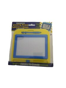 Magnetic Drawing Board With Stylus Blue Sketch Doodle Pad Kids Stocking Stuffers