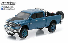 1:64 GreenLight *ALL-TERRAIN R3* Blue 2014 Dodge Ram 1500 BIG HORN Pickup *NIP!*