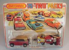 "Matchbox Superfast ""Two"" Packs TP-9 Field Car & Racing Car OVP #6590"