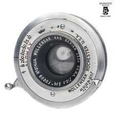 Wollensak 3 1/2in F/12.5 Series IIIA EX.W.A 4X5 Lens