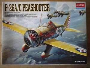 BOEING P-26A/C PEASHOOTER  1/48 ACADEMY 1999