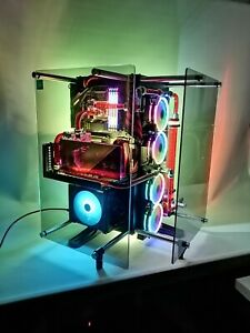 CUSTOM WATERCOOLED GAMING PC INTEL I7 GTX 1080TI