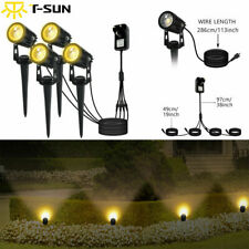 4PCS LED Spotlights Landscape Lights Outdoor Garden Pathway Lamp *US SHIPPING*