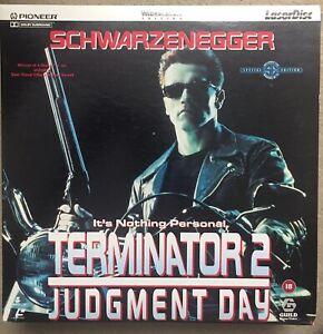 Terminator 2 Judgement Day Laserdisc